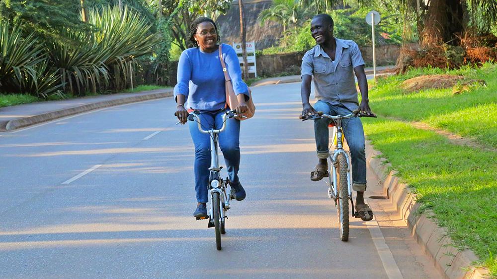 Amanda Ngabirano Bicycle Kamapala Uganda Intro Africa