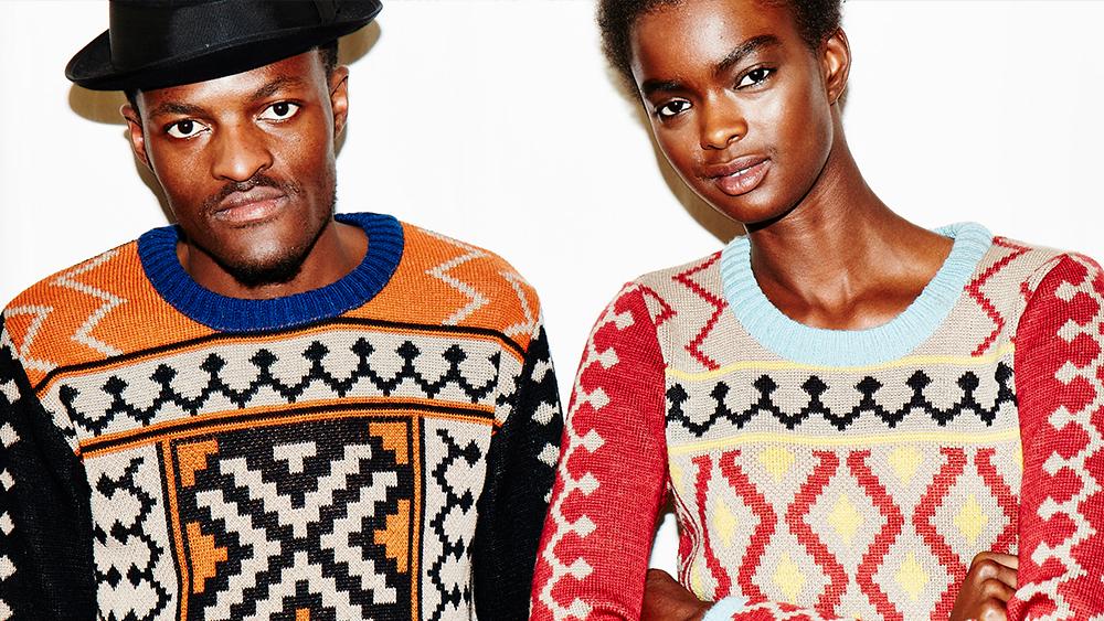 Why knitwear? Maxhosa Africa Photo credit: Ulrich Knoblauch