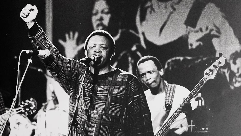 Hugh Masekela Kapp to Kapp concert 1986 Photo Lars Grønseth